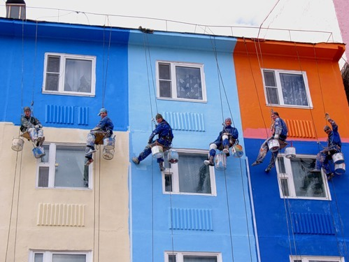 Проведение ремонта фасада разрешение
